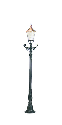 Lampa ogrodowa - S2B+K3B