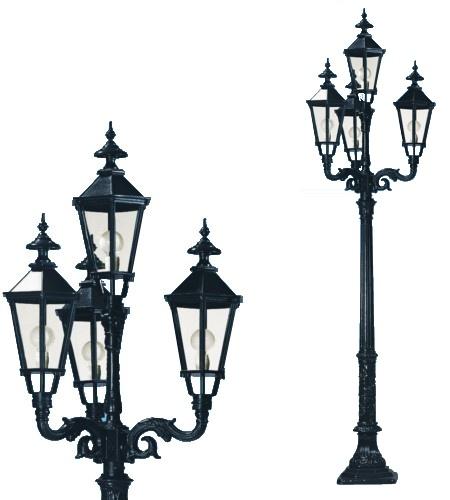 Lampa ogrodowa - S1+4xK7B