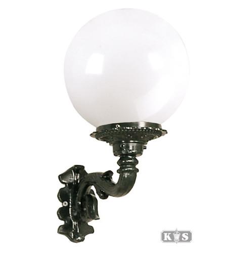 Lampa ogrodowa kule - R6 +kula Φ 25cm