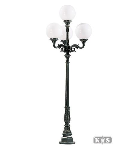 Lampa ogrodowa kule - S2 +4x kula Φ 30cm