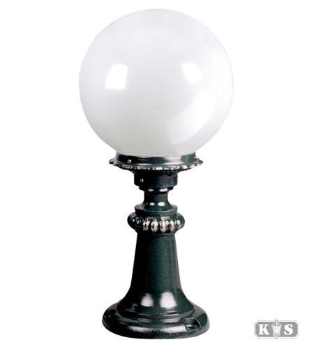 Lampa ogrodowa - S9B +kula Φ 25cm