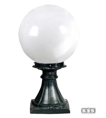 Lampa ogrodowa - S52 +kula Φ 30cm