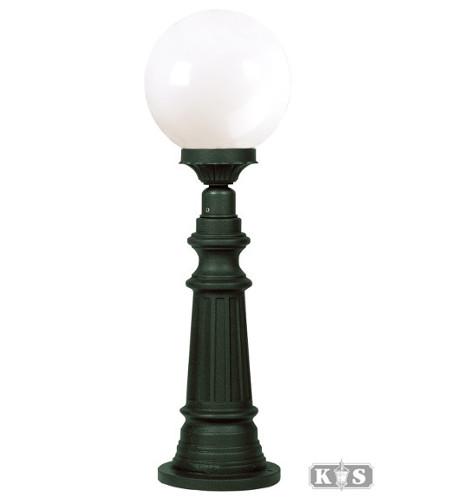 Lampa ogrodowa - S50B +kula Φ 25cm