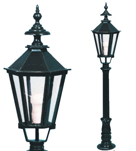 Lampa ogrodowa - S4+K7B