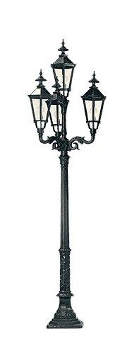Lampa ogrodowa - S6+R4+4xK7B