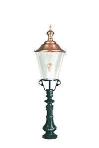Lampa ogrodowa - S10+K3B