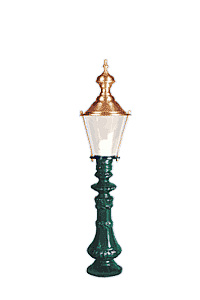 Lampa ogrodowa - S10+K29