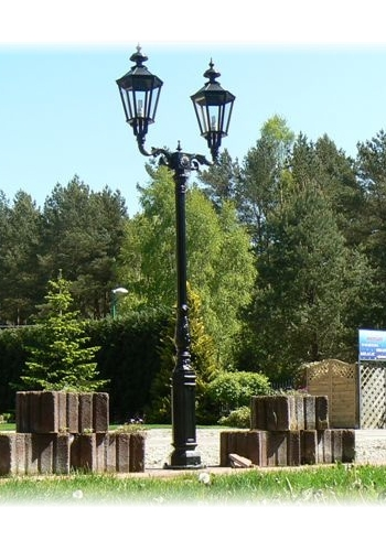 Lampa ogrodowa - S1+2xK7A