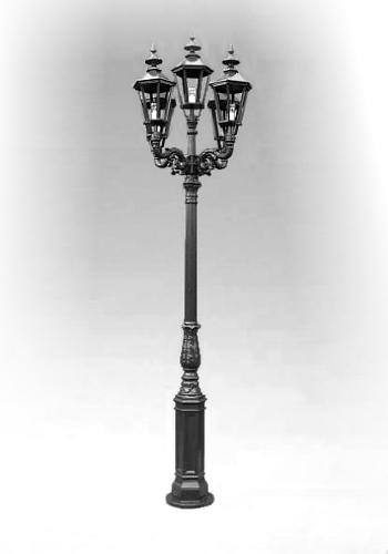 Lampa ogrodowa - S1+5xK7A