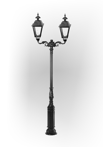 Lampa ogrodowa - S1+ 2xK6