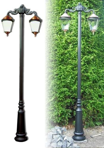 Lampa ogrodowa - E92 +2x K3A