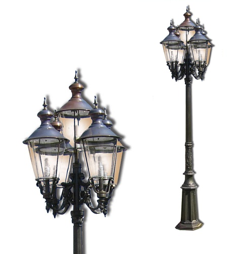 Lampa ogrodowa - S23 + 5xK2