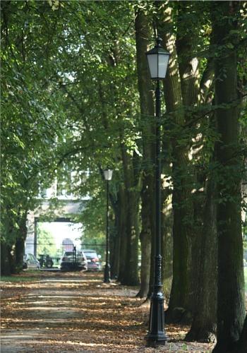 Lampa parkowa, uliczna - S23 + K7D