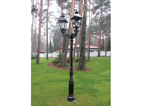 Lampa parkowa, uliczna - S1 + 3xK6A
