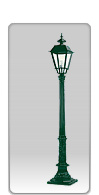 Lampa ogrodowa -  S6+K6