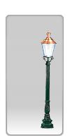 Lampa ogrodowa -  S66+K3B