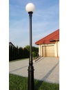 Lampa ogrodowa kule -  S101 + kula Φ40cm