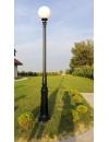 Lampa parkowa, uliczna -  S101 + kula Φ400