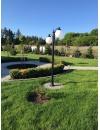 Lampa ogrodowa kule -  Madeira + 2xkula Φ30cm