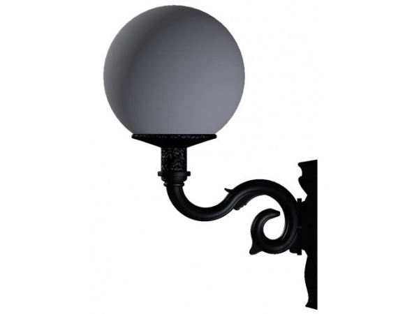 Lampa ogrodowa kule - R4+Kula Φ 30cm